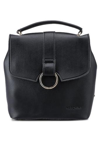 Verchini black Verchini Mini Backpack Purse B8E52ACC9D158BGS_1