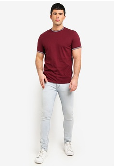976aaeb6125 33% OFF Jack Wills Rousting Retro Tipped T-Shirt S  59.90 NOW S  39.90  Sizes L XL