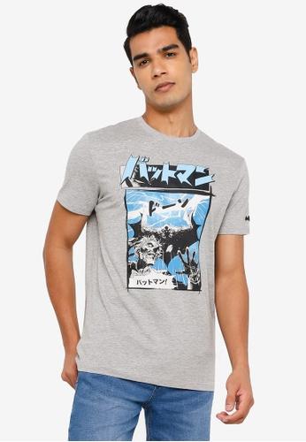 Springfield grey Batman T-Shirt 51334AAD4EFF7FGS_1