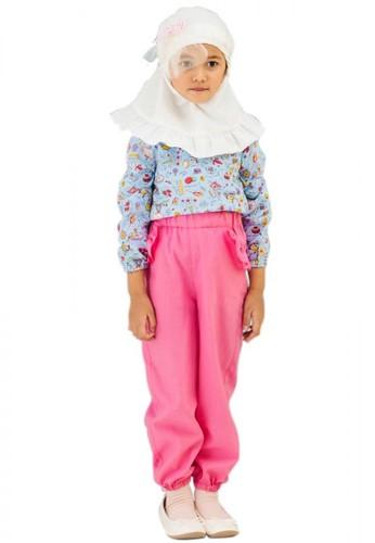 Al-Qolam Hafiz Hafizah Fashion - Alya Eiffel Blue Baju Anak F860AKA26B6B65GS_1