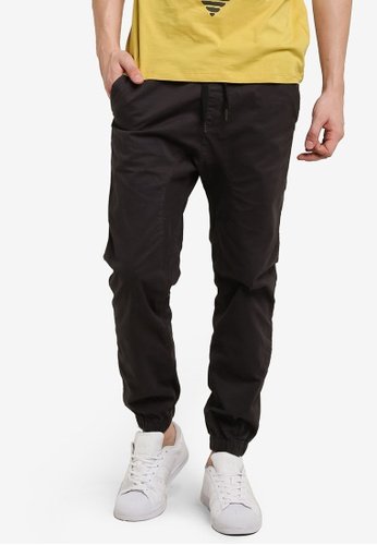 Cotton On grey Drake Cuffed Pants CO372AA91IGAMY_1