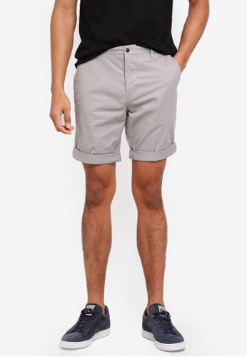 ESPRIT grey Woven Regular Shorts BAD1CAA0AFA83EGS_1
