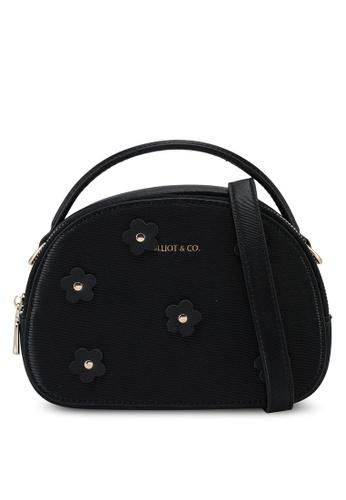 Milliot & Co. black Taylor Sling Bag A17F3ACFFCFA6AGS_1