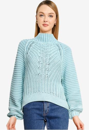 Free People blue Sweetheart Sweater 70F46AA2936956GS_1
