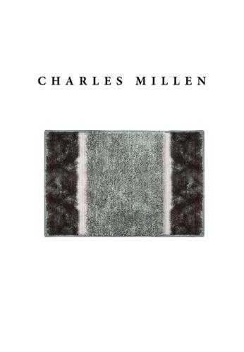 Charles Millen grey SET OF 2 Charles Millen Nadia TR1618Y  Microfibre Anti slip  Bath Mat /   40x60cm C5753HL2FB9CD0GS_1