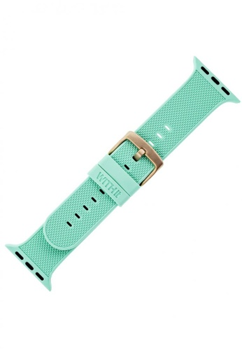 WITHit WITHit Woven Silicon Band-Apple Watch 40/38mm(series SE/6/5/4) -Teal C1B22AC55DB42CGS_1