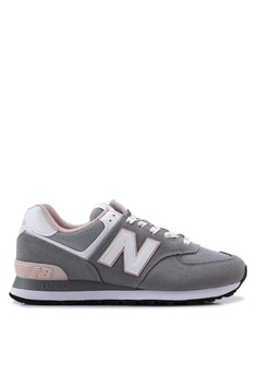 d12d3ede2b1 New Balance grey 574 Lifestyle Shoes 37DA4SH847734BGS 1