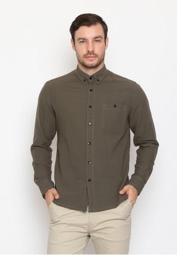 17seven Original green Longshirt 156-TROY EE666AAEF37256GS_1