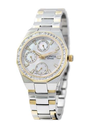 BONIA gold and silver Bonia Premium - BP10438-2152S - Jam Tangan Wanita A376FACE9CFC8FGS_1