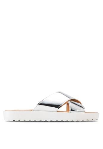 Miss KG silver Deion Sandals MI302SH54DVTMY_1