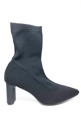 Twenty Eight Shoes 飛織中踭短靴6619-2 B6E62SH75A3DD9GS_1
