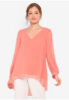 6d754e34 Buy TOPSHOP Ivory Broderie Shirt Online on ZALORA Singapore