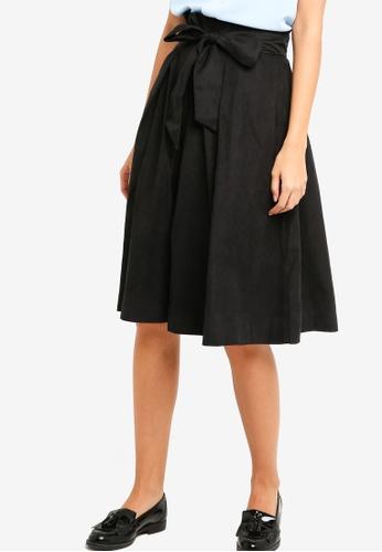 ZALORA black Paper Bag Skirt C8E27AA37ADA38GS_1