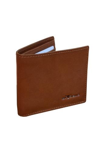 EXTREME brown Extreme Genuine Leather Bifold Wallet RFID Protected Fengshui Slim Vintage Brown F3C60ACF5CD8CCGS_1
