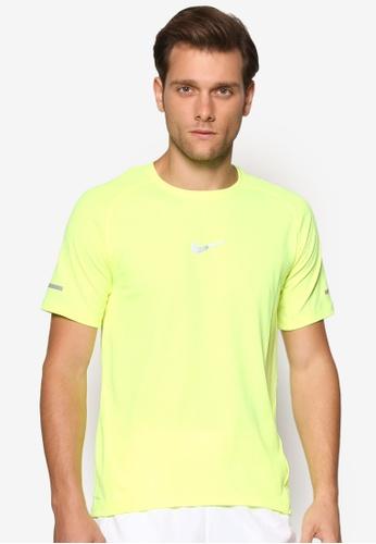 Nike black Men's Nike AeroReact Running Top NI126AA39BKIMY_1