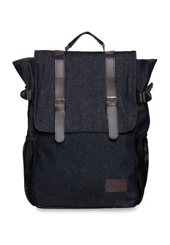 b50522d1b8fe Pulcher black Greyjoy - Tas Backpack Pria - Black - Tas Travel - Tas  Sekolah -
