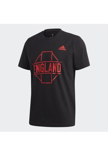 ADIDAS black adidas England Graphic Tee C550FAABB3811BGS_1