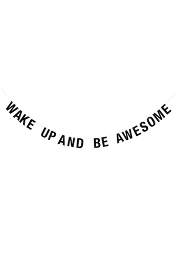 Stylodeco Wake Up and Be Awesome Paper Garland 45ACBHLC3CE200GS_1