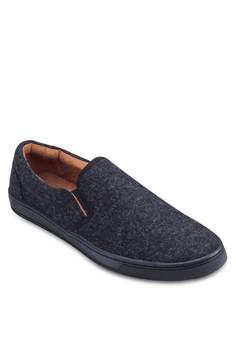 Felt Slip On Sneakers