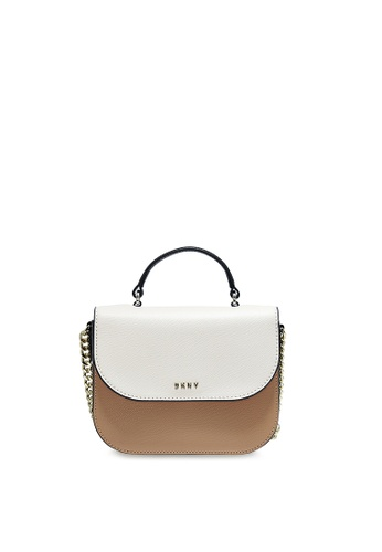 Dkny brown DKNY Women Felicia Top Handle Crossbody Bag 993ECACD2E5246GS_1