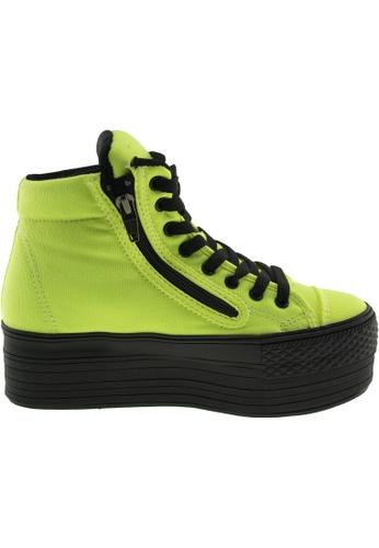 Maxstar green Maxstar Women's C50 Padded Lining Hidden Heel Platform Canvas Sneakers US Women Size MA164SH05PQGSG_1