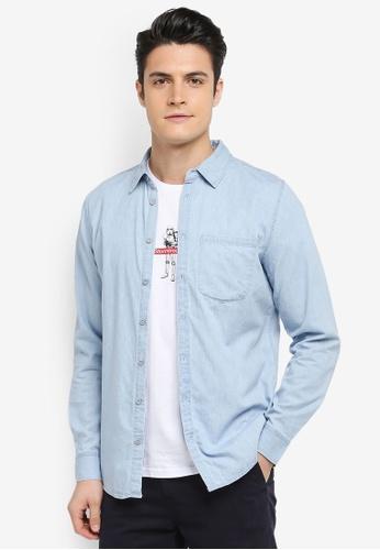 Cotton On blue 91 Shirt 6B82CAA0DDFF9BGS_1