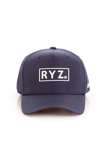 RYZ navy RYZ Logo Baseball Navy Cap. 25C8CAC50A8926GS_1