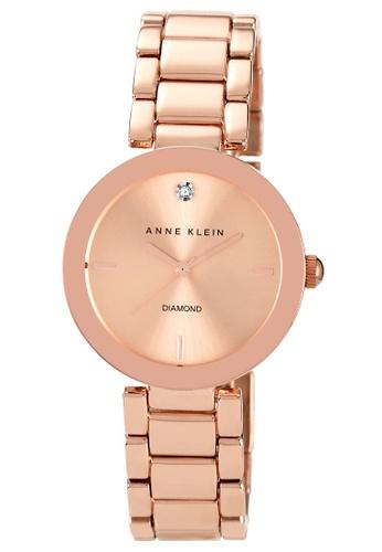 Anne Klein beige Anne Klein Women's AK1362RGRG Rose Dial Rose Gold Tone Ladies Watch EA5F0ACF16AFE3GS_1