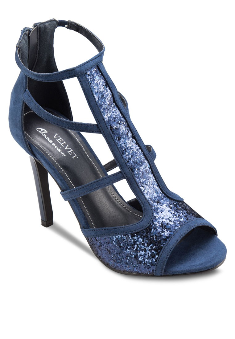 Occasion Glitter Sandal Heels