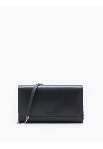 Calvin Klein black Leahter Wallet With Chain E3D0DAC28B2B6CGS_1