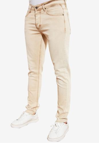 Trendyol beige Skinny Fit Jeans DF888AAFB293C9GS_1