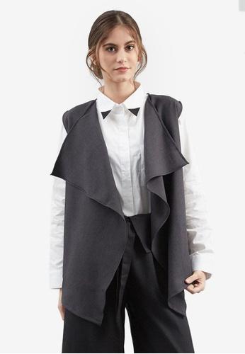 Berrybenka grey Eletta Vest C86B8AA27A24A5GS_1
