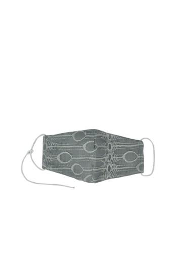 MAYONETTE grey MAYONETTE Lace Masker Basic Pomelo 3 Pcs - Grey - non-medis - Dewasa - High Quality E3FFCESA184A53GS_1