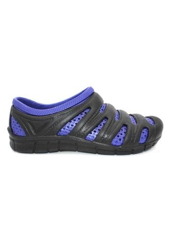 midzone black and blue YLY Slip On Men Sandals MI949SH0RW67MY_1