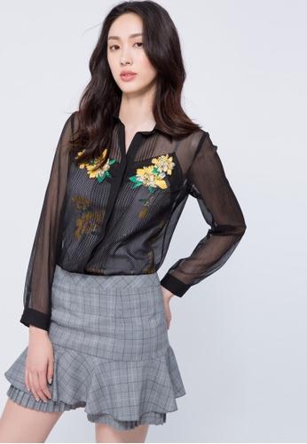 iROO multi Short Skirt 00203AAB3FB84FGS_1