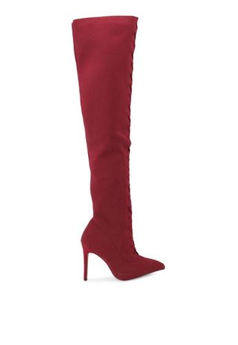 ALDO red Kianiel Boots AL087SH0S724MY_1