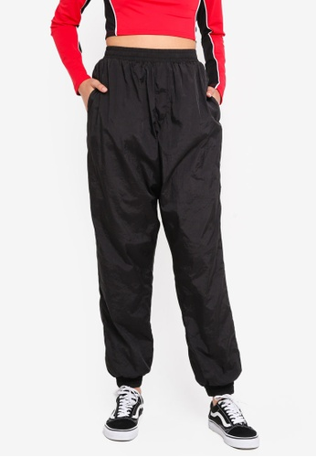 Factorie black Woven Trackpants EE4B5AA33BA58CGS_1