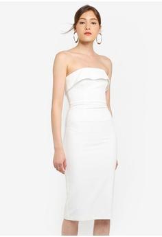 8ae2be591f2b6 Bardot white Georgia Dress AFEA7AA75F5E8CGS 1