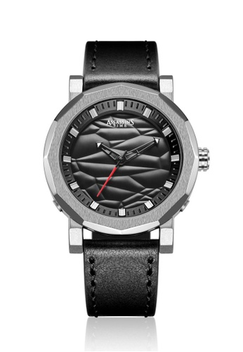 Assassin's Time black Assassin's Time WAVE Black Leather 76286ACE1CBAD1GS_1