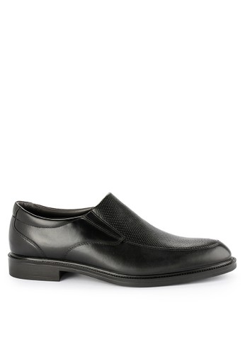 Hush Puppies black Astrof Slip On A6606SH90B1843GS_1