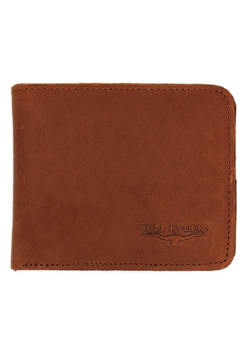 midzone brown Premium Genuine Leather Wallet MI949AC0SDY8MY_1