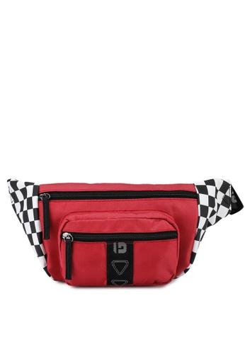 Guess red Speed Racer Bum Bag 467BDACC58BCF0GS_1