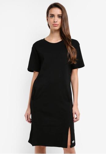 Pestle & Mortar black Double Spilt Dress 0789FAABE91E33GS_1