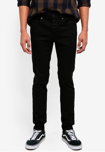 Selected Homme black Black Skinny Jeans 66C7FAA762A625GS_1