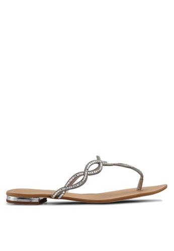 ALDO silver Thelisien Occasion Sandals 69B2ESH12A7BDAGS_1