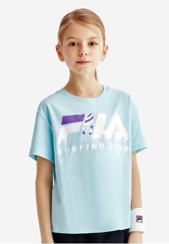 FILA blue FILA KIDS FILA SURFING CLUB Logo T-shirt 8-15yrs 67B48KA6DDCC6AGS_1
