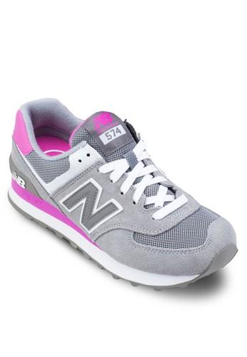 57zalora 包包評價4 撞色運動鞋, 女鞋, 運動