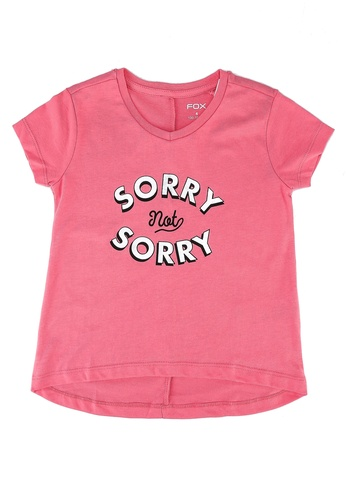 FOX Kids & Baby pink Kids Girls Short Sleeve Tee 75ACFKA8F3BB02GS_1