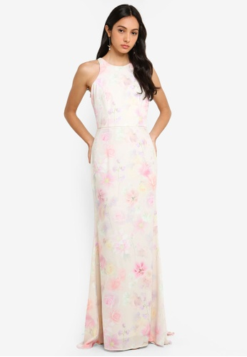 Topshop Maternity Lined Floral Cross Back Strappy Dress Poly Stretch Us 8 2019 Latest Style Online Sale 50% Women's Clothing
