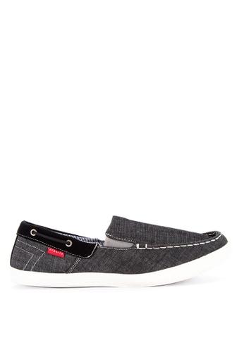 Alberto black Men's Slip On Sneakers FA554SHD1B4272GS_1